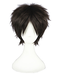 Short Shingeki no Kyojin-Eren Jger Brown 12inch Cosplay Wig CS-086A