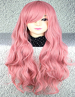 Lolita Wigs Sweet Lolita Lolita Kudrny Růžová Lolita Paruky 75 CM Cosplay Paruky Paruka Pro Dámské