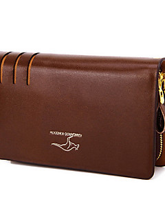 2 L Handbag Traveling Outdoor Waterproof Zipper Leather Bottom Black Brown Others