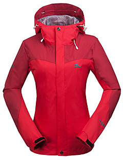 Hiking Softshell Jacket / Ski/Snowboard Jackets Women'sWaterproof / Breathable / Thermal / Warm / Quick Dry / Windproof / Ultraviolet