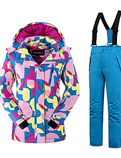 スキーウェア 洋服セット/スーツ 女性用 冬物ウェア ポリエステル ファッション 冬物ウェア 保温 快適 スノースポーツ 秋 冬