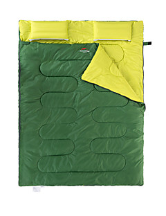 キャンプパッド スリーピングパッド ワイドダブル型 フル 幅200 x 長さ230cm 10-15 ポリエステルX75 狩猟 ハイキング キャンピング 旅行 屋外 防湿 携帯用 速乾性 防風 通気性