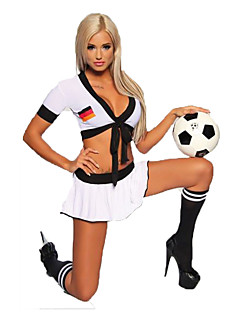 Cosplay Costumes Party Costume Cheerleader Costumes Career Costumes Festival/Holiday Halloween Costumes Solid Top ShortsHalloween
