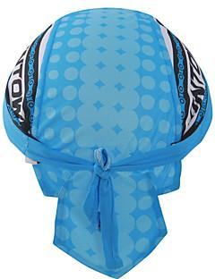 כובעים כובע Headsweat אופנייים נושם ייבוש מהיר עמיד מבודד מגביל חיידקים מפחית שפשופים תומך זיעה רך קרם הגנה לנשים לגברים יוניסקס כחול