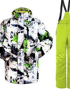 Mulheres Homens Blusas Calças Conjuntos de Roupas/Ternos Acampar e Caminhar Esportes de Neve CorridaImpermeável Térmico/Quente A Prova de