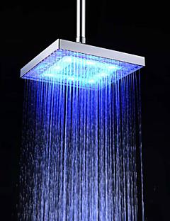 Modern Regendouche Chroom Kenmerk for  LED Regenval Milieuvriendelijk , Douchekop