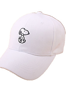 Caps / Chapéu Confortável / Protecção Unissexo Esportes Relaxantes / Basebal Primavera / Verão Branco / Rosa / Preto