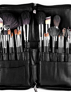 10 Makeup Brushes Set Synthetic Hair Professional Face Eye Lip