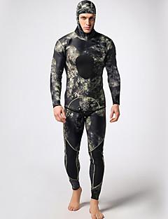 Homme 3mm Costumes humides Combinaisons étanches Combinaison  Intégrale Etanche Garder au chaud Vestimentaire ConfortableNylon caoutchouc