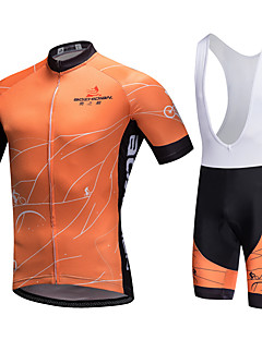 AOZHIDIAN Summer Cycling Jersey Short Sleeves BIB Shorts Ropa Ciclismo Cycling Clothing Suits #AZD089