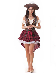 Sexy Pirate Dress Adult Halloween Women's Costumefor Carnival