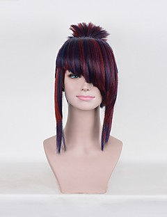 Cosplay Wigs Black Short Anime Cosplay Wigs 35 CM Heat Resistant Fiber Male Short Anime/ Video Games Heat Resistant Fiber