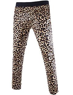 メンズ セクシー ミッドライズ ルーズ ストレート strenchy チノパン スウェットパンツ パンツ つや消しブラック