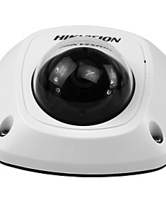 HIKVISION® DS-2CD2542FWD-IS 4MP WDR Mini Dome IP Camera(PoE 10m IR Waterproof Detection Motion Plug and Play Built-in Microphone Audio Output)