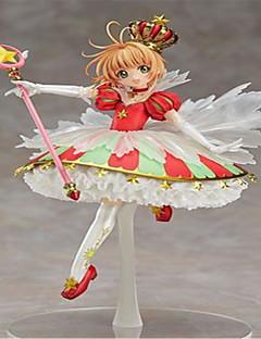 נתוני פעילות אנימה קיבל השראה מ Cardcaptor Sakura Sakura Kinomodo PVC 26 CM צעצועי דגם בובת צעצוע