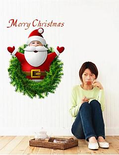Noël Romance Mode Stickers muraux Autocollants avion Autocollants muraux décoratifs,Papier Matériel Amovible Décoration d'intérieurCalque