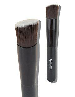 Emily® 1pcs Foundation Brush  Limits bacteria Black prefect for blending liquid/ cream or flawless powder cosmetics buffing/stippling/concealer