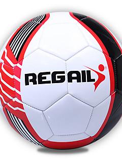 Soccers-Wysoka elastyczność Trwały(Biały Czerwony,PVC)