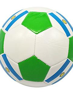 Høy Elastisitet Holdbar-Fotball(Hvit Grønn,PVC)