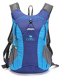 CAMEL 15 L  Outdoor  Cycling  Camping & Hiking Cycling/Bike Traveling PractiseReflective Strip Backpack Color Blue/Black/Dark Purple