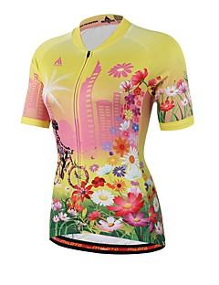 Miloto חולצת ג'רסי לרכיבה יוניסקס שרוול קצר אופניים ג'רזי חומרים קלים תומך זיעה Coolmax אביב קיץ סתיו רכיבה על אופניים/אופנייים