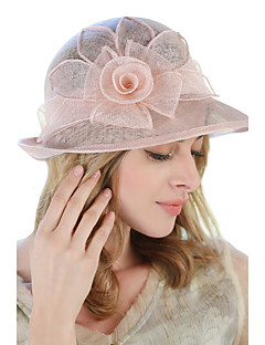 Women Linen Bucket Hat Sun Hat,Cute Party Work Casual Spring Summer Fall