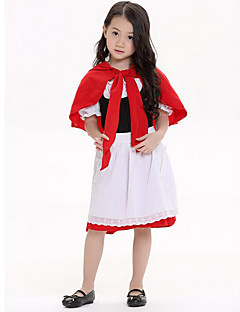 Cosplay Costumes Party Costume Fairytale Festival/Holiday Halloween Costumes Patchwork Dress Halloween Carnival Children's Day KidLycra