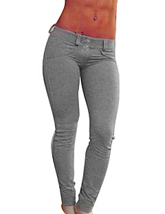 Femme Collants de Course Respirable Leggings Pantalon/Surpantalon Bas pour Yoga Exercice & Fitness Serré Noir Gris Rouge S M L XL