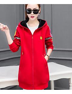 lányok 2016 új téli hosszú szakasza kapucnis kardigán pulóver tanuló koreai változata, plusz vastag bársony kabát tavaszi