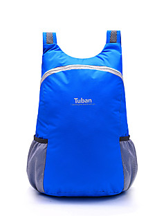 Tuban® 18 L Backpack Daypack Camping & Hiking Cycling/Bike Outdoor Waterproof Compact Multifunctional Lightweight Foldable Red Gray Blue600D