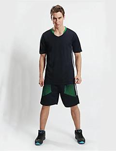 Herre Fotball Klessett/Dresser Pustende Fort Tørring Svettereduserende Bekvem Vår Sommer Høst Vinter Lapper Polyester Basketball Fotball