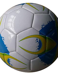 Høy Elastisitet Holdbar-Fotball(Gul Hvit Rød,Polyester)