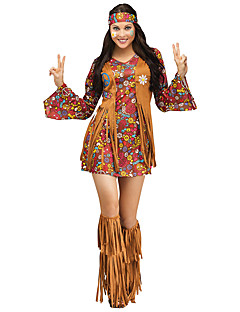 Tassels Sexy Indian Maiden Costume Adult Hippie Costume Adult Cherokee Princess Costume For Halloween Party Dress