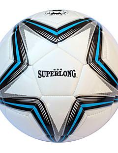 Football(Blanc Bleu,Polyuréthane)Haute élasticité Durable
