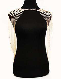 Γυναικεία Κοσμήματα Σώματος Body Αλυσίδα / κοιλιά Αλυσίδα Φύση Μοντέρνα Βοημία Style Κράμα Χρυσό Κοσμήματα Για Ειδική Περίσταση Causal 1pc