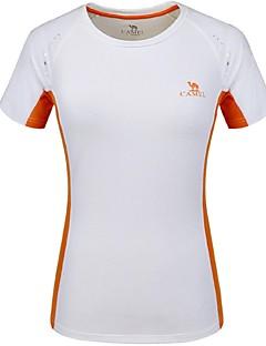 Női Planinarska majica Gyors szárítás Légáteresztő Póló mert Kempingezés és túrázás Mászás Cross-Country Futás Csoportos sportjátékok Nyár