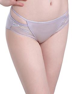 Sexy Spitze Blumen Slip-Baumwolle Nylon Polyester Elasthan