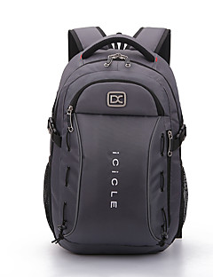 38 L Laptop Pakker rygsæk Laptop Pakker Multifunktionel Grå Sort