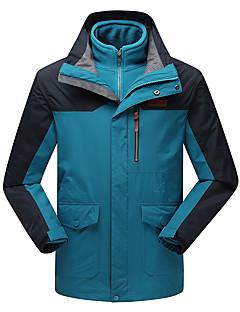 לגברים מעילי 3 ב 1 ז'קטים לחורף סקי מחנאות וטיולים ציד ספורט שלג סנואובורד עמיד למים נושם שמור על חום הגוף עמיד בטנת פליז עמיד לאבקסתיו