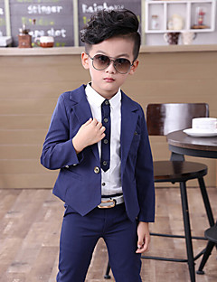 Boys' Going out Casual/Daily Formal Solid Sets,Cotton Spring Clothing Set