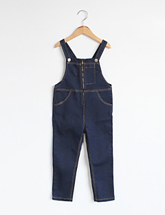 Girls' Going out Solid Overall & Jumpsuit-Cotton Spring Fall