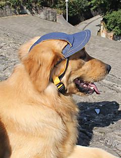 pejsky šátky a kloboučky Oblečení pro psy Léto Jaro/podzim Džíny Sportovní Modrá