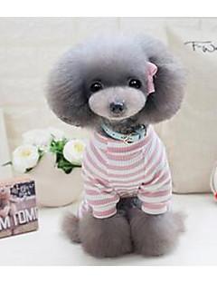 개 티셔츠 강아지 의류 여름 프린세스 귀여운 캐쥬얼/데일리 그레이 핑크