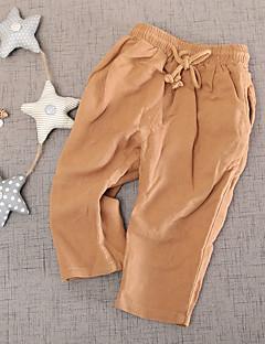 Drenge Bukser Afslappet/Hverdag Ensfarvet-Bomuld Sommer