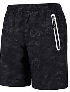 לגברים ריצה מכנסיים קצרים נושם ייבוש מהיר חומרים קלים קיץ ספורט פנאי ריצה פוליאסטר בבית בגדי שטח הצגה ספורט פנאי בגדי ספורט ומנוחה