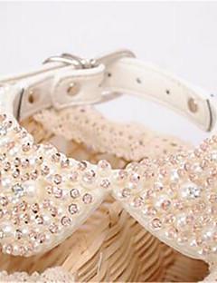 Dog Necklace Dog Clothes Summer Crystal/Rhinestone Fashion