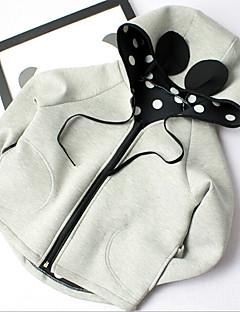Rembourré Coton Enfant Décontracté / Quotidien Couleur Pleine Coton Printemps Automne Manches longues