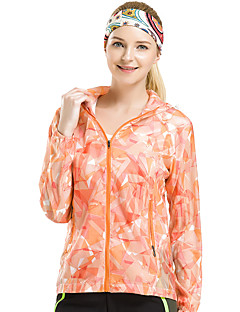 Mulheres Jaqueta de Trilha Secagem Rápida A Prova de Vento Resistente Raios Ultravioleta Á Prova-de-Pó Vestível Respirável Jaqueta Blusas