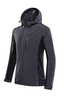 Mulheres A Prova de Vento Inverno Cinzento Claro Preto Azul-SPAKCT®