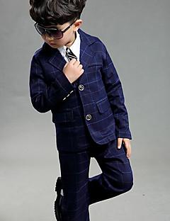 Drenge Indstiller I-byen-tøj Afslappet/Hverdag Formelle Geometrisk,Bomuld Forår Tøjsæt